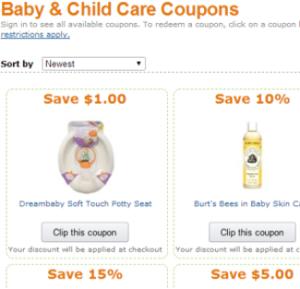 Amazon baby furniture coupon code