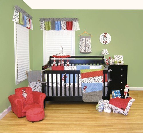 Dr. Seuss The Cat in The Hat Baby Nursery Decor